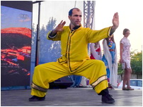 Demonstratie Kung Fu Wushu - Festivalul Ambasadelor