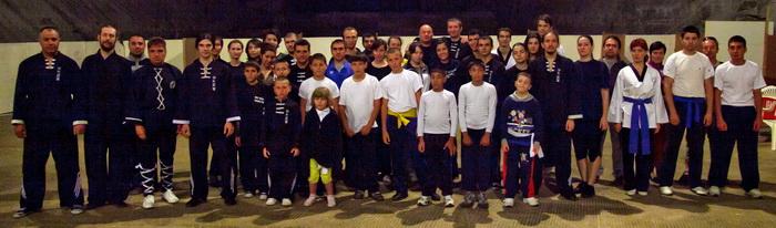 Stagiu arte martiale in Salina Slanic Prahova