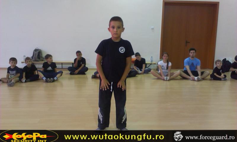 Centura alba primul nivel Wu Tao Kung Fu