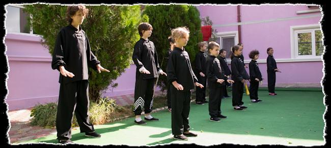 Impresii demonstratie Kung Fu la After School Degetica