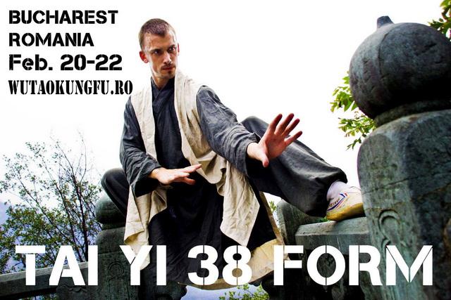 Seminar Wudang – Tai Yi 38 Form 20 – 22 februarie 2015
