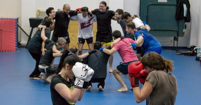 Antrenamente Wushu Sanda 19 – 21 februarie 2015