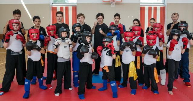 Antrenament Kung Fu  & Wushu Sanda @ C.S.WuDao